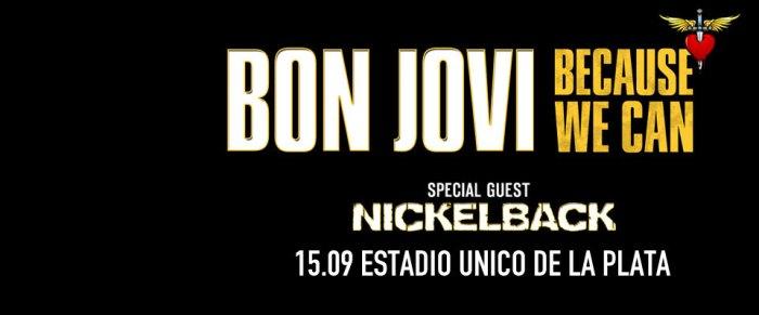 Congamag_Bon Jovi - Flyer Estadio Único de La Plata