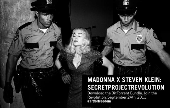Congamag_Madonna - Secret Project Revolution