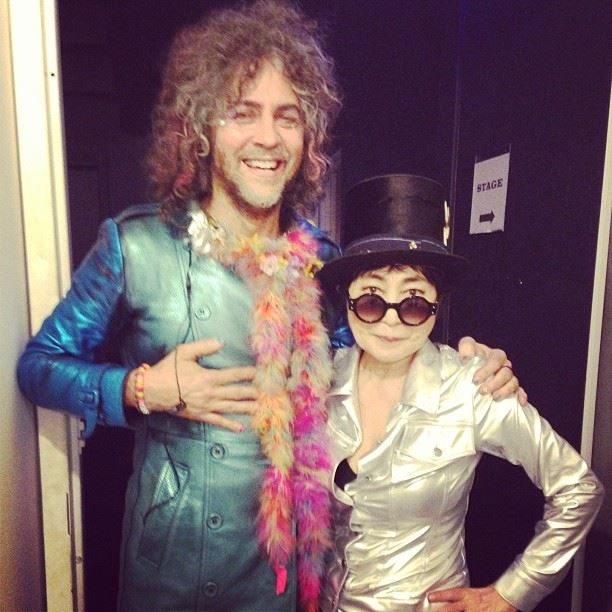 Congama_Yoko + Wayne Coyne (The Flaming Lips)