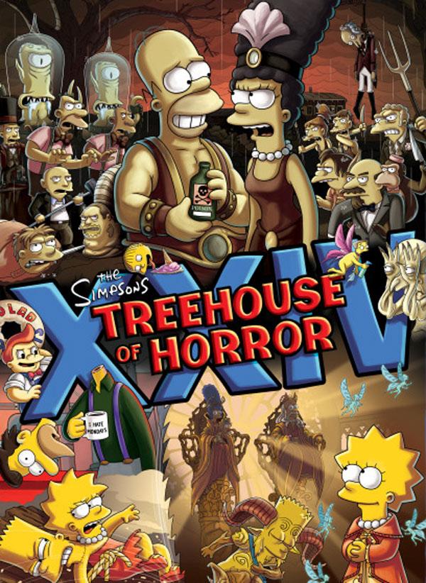 Congamag_Guillermo del Toro + Los Simpsons