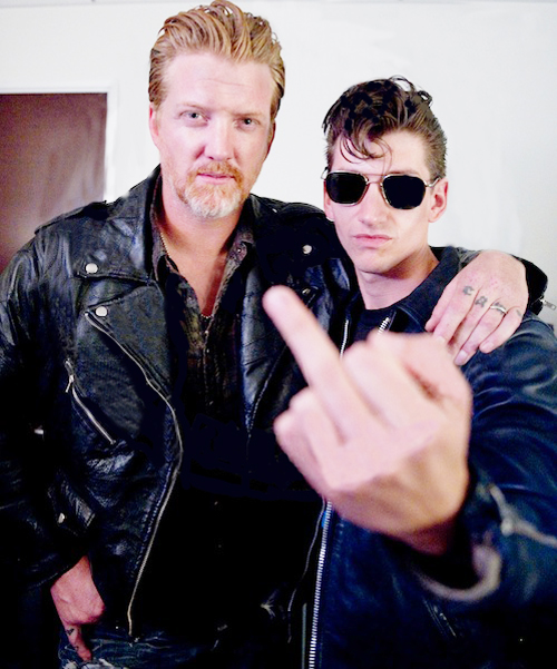 Congamag_Josh Homme + Alex Turner
