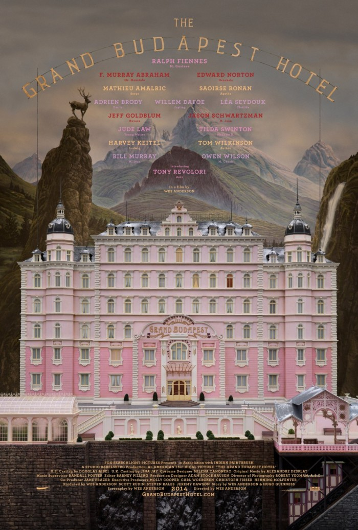 Congamag_The Grand Budapest Hotel - Poster
