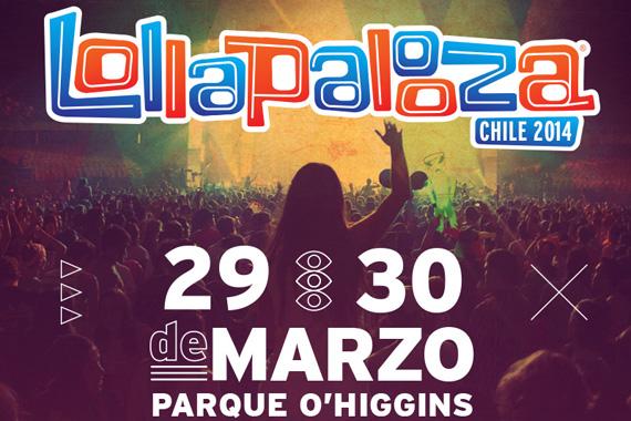 Congamag_Lollapalooza - Chile 2014