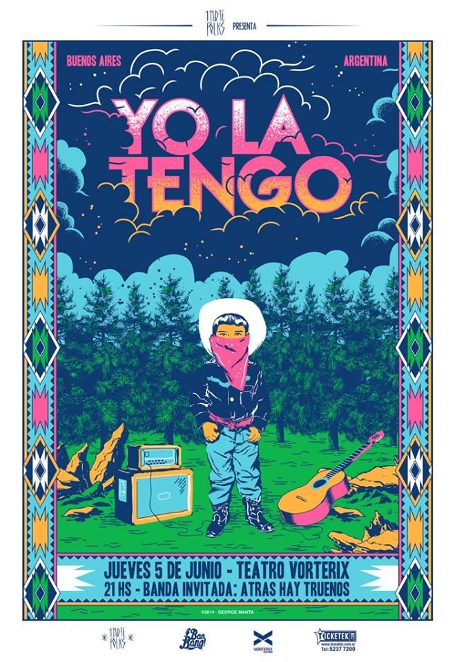 Congamag_Yo la Tengo - Buenos Aires