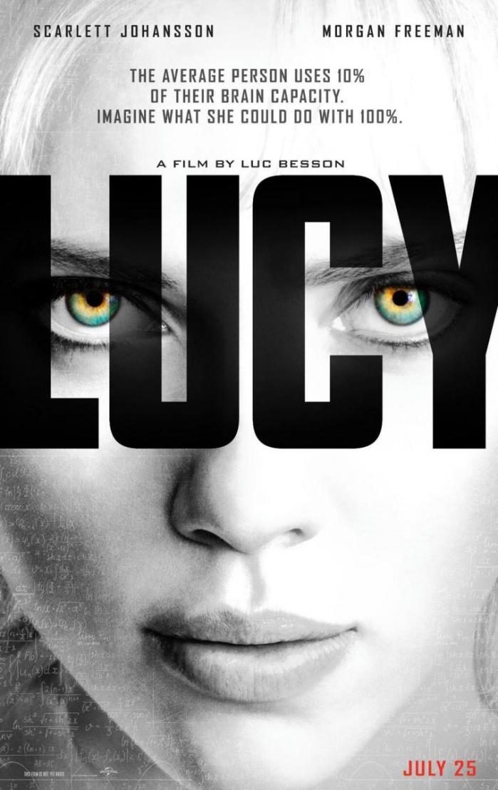 Congamag_Scarlett-Johansson en Lucy, la nueva película de Luc Besson - Poster