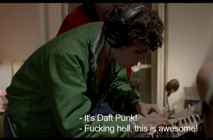 Congamag_Daft Punk llega a la ficción