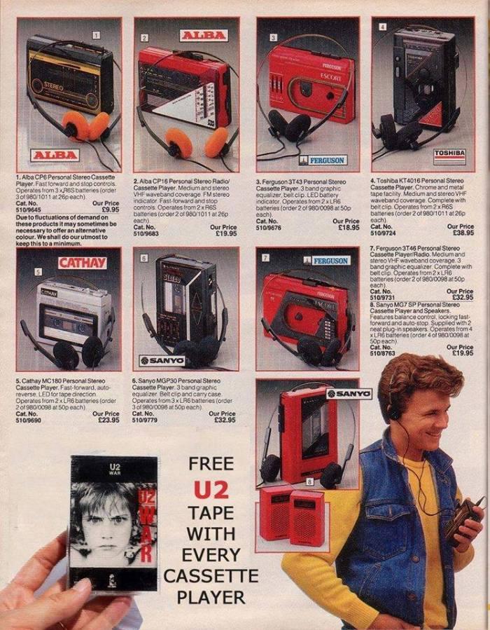 Congamag_U2 ya regalaba discos en los 80s